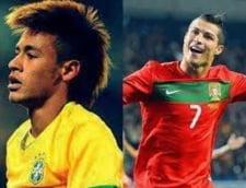 Neymar, laudat surprinzator de Cristiano Ronaldo