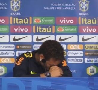Neymar a cedat: Cel mai scump fotbalist din istorie a izbucnit in plans (Video)