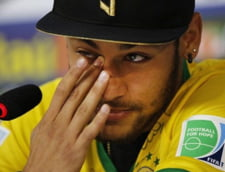 Neymar a izbucnit in plans la prima conferinta de presa: Puteam ramane paralizat!