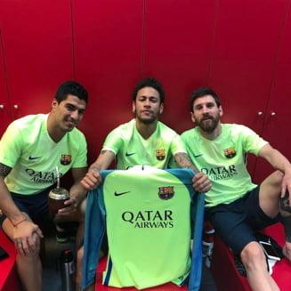 Neymar il ataca dur pe seful Barcelonei: E o gluma!