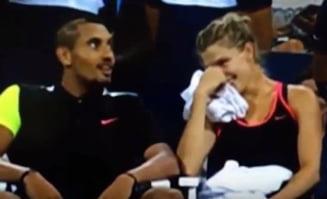 Nick Kyrgios loveste din nou - ce i-a facut lui Eugenie Bouchard la US Open (Video)