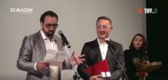 Nicolas Cage a primit, la Cluj, Trofeul Transilvania pentru Contributia adusa Cinematografiei Mondiale (Video)