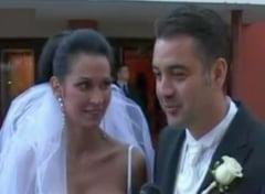 Nicoleta Luciu s-a maritat cu Zsolt Csergo
