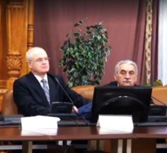 Nicolicea a dat presa afara de la sedinta Comisiei Juridice din Camera Deputatilor, unde se pare ca s-a discutat pe OUG 13 si 14