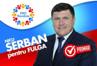 Nicu Serban, candidatul PRO Romania Prahova pentru comuna Fulga