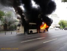 Nicusor Dan: Firea l-a trimis sa investigheze troleibuzul in flacari pe un ins care, in trecut, a fost demis dupa ce un tramvai a luat foc