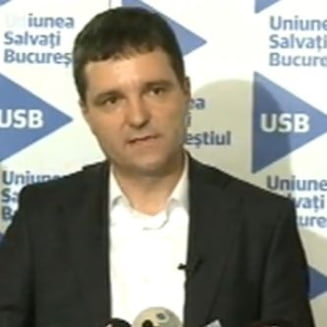 Nicusor Dan: USB se transforma in Uniunea Salvati Romania. Vom lupta la parlamentare, nu accept sa devin viceprimar (Video) - UPDATE