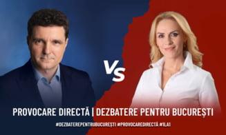 "Nicusor Dan, provocare pentru Gabriela Firea: ""Trei dezbateri electorale, fata in fata, pe teren neutru, in ultima saptamana de campanie"""