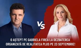 """Nicusor Dan insista asupra unei dezbateri fata in fata cu Gabriela Firea: """"Sper sa confirme participarea"""""""