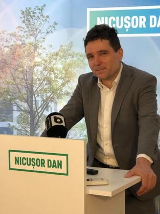 Nicusor Dan s-a inscris in cursa interna a USR pentru Primaria Capitalei