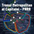 """Nicusor Dan spune ca proiectele pentru trenul metropolitan totalizeaza 530 de milioane de euro: """"E vizata achizitia a 50 de trenuri electrice"""""""