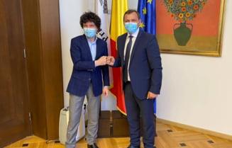 """Nicusor Dan vorbeste despre proiecte comune intre Bucuresti si Chisinau: """"Am vorbit cu Andrei Nastase. E important ca relatiile dintre cele doua capitale sa se consolideze"""""""