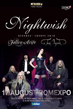 Nightwish canta din nou la Bucuresti, pe 17 august. Vezi cine deschide concertul!