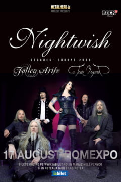 Nightwish canta la Bucuresti: Program si reguli de acces