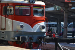 Ninsorile ingreuneaza circulatia trenurilor - intarzieri in Gara de Nord Bucuresti