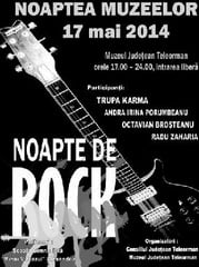 "Noapte de rock la ""Noaptea Muzeelor"""