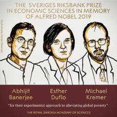 Nobelul pentru Economie a fost castigat de trei profesori pentru lupta lor impotriva saraciei globale