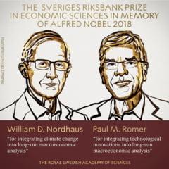 Nobelul pentru Economie castigat pentru studii despre cum se influenteaza reciproc economia si clima