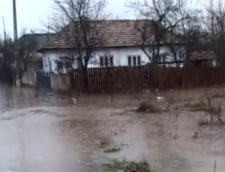 Noi avertizari de inundatii: Teleormanul, iarasi in pericol