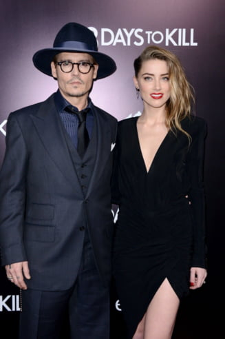 Noi fotografii cu sotia invinetita a lui Johnny Depp: Ar fi incercat sa o sufoce cu o perna