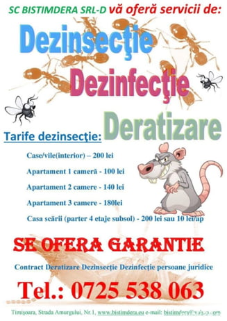 Noi informatii despre firma care s-a ocupat de deratizarea din Timisoara. Patronul ar fi recunoscut ca a folosit o substanta letala fara autorizatie