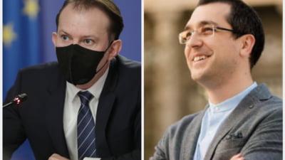 Noi intepaturi intre Florin Citu si Vlad Voiculescu dupa ce acesta din urma a fost revocat din Ministerul Sanatatii