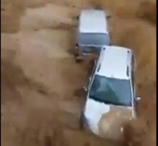 Noi inundații și furtuni puternice în Belgia VIDEO
