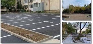 Noi locuri de parcare intre blocuri in cartierele din Timisoara, dupa demolarea garajelor. Vor intra in noul sistem TimPark