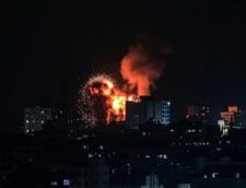 Noi lovituri ale Israelului in Fasia Gaza. Sunt primele raiduri de la venirea la putere a lui Naftali Bennett VIDEO
