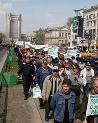 Noi pichete ale sindicalistilor de la Imbunatatiri Funciare, la Ministerului Agricuturii