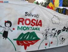 Noi proteste fata de proiectul de la Rosia Montana, la Campeni