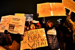 """Noi proteste in Bucuresti si in marile orase: """"Ponta, demisia! Dragnea, capul rautatilor"""""""