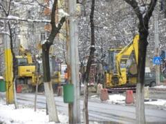 Noi strazi din Slatina intra in programul de reabilitare a retelelor de apa si canal