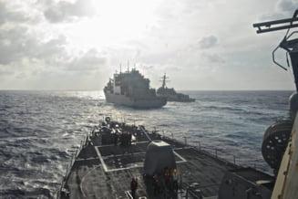 Noi tensiuni intre SUA si China: Distrugatorul Decatur a navigat la 12 mile in apropierea unor insule revendicate de Beijing