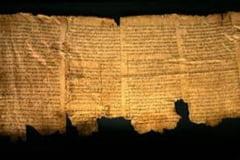 Noi texte scoase la iveala din pesterile ce au ascuns Manuscrisele de la Marea Moarta