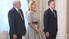 Noii ministri ai lui Dancila au depus juramantul. Iohannis nu a avut nimic sa le spuna