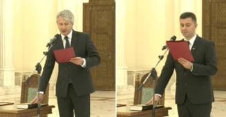 Noii ministri din Guvernul Ponta, investiti la foc automat: Niciun discurs, nicio sampanie (Video)