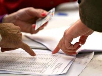 Noile liste electorale - Cifrele pe care Guvernul le va trimite la CCR - surse