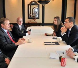 Noile redevente petroliere vor fi discutate la inceputul lui 2015, a promis Ponta, in SUA