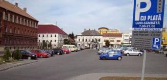 Noile tarife pentru parcarile publice cu plata din Municipiul Alba Iulia, au intrat de astazi in vigoare