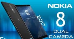 """Nokia 8 va face in premiera """"bothie"""". Cand se lanseaza si cat va costa"""