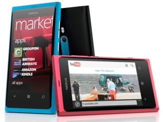 Nokia a lansat primul telefon cu Windows