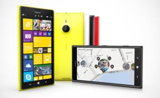 Nokia a lansat varful de gama Lumia 1520 si prima sa tableta