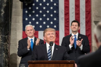 Nord-coreenii il ridica in slavi pe Trump in presa de stat ca pe propriul lor dictator