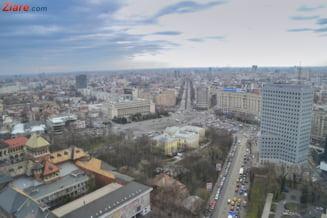 Nordul Capitalei si Piata Victoriei, blocate de protestele transportatorilor timp de doua zile