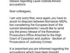 Norica Nicolai email PE Kovesi