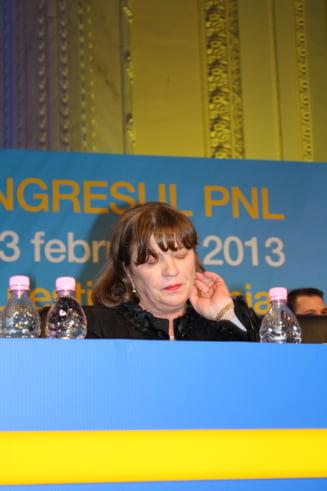 Norica Nicolai nu pleaca din PNL, dar s-a inscris in ALDE: Imi asum riscul unei excluderi din partid