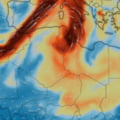 Norul de poluanti generat de vulcanul din La Palma ajunge in Romania. Intra pe la Timisoara si pana luni seara se extinde in toata tara