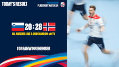 Norvegia, medaliata cu bronz la Campionatul European de handbal masculin