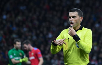 Nota primita de Ovidiu Hategan dupa arbitrajul de la Juventus - Manchester United